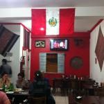Sabor peruano na Rua Aurora